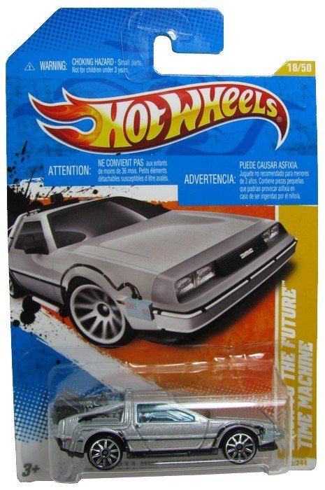 Hot Wheels - Coleção 2011 - Back To The Future - Time Machine  - Hobby Lobby CollectorStore