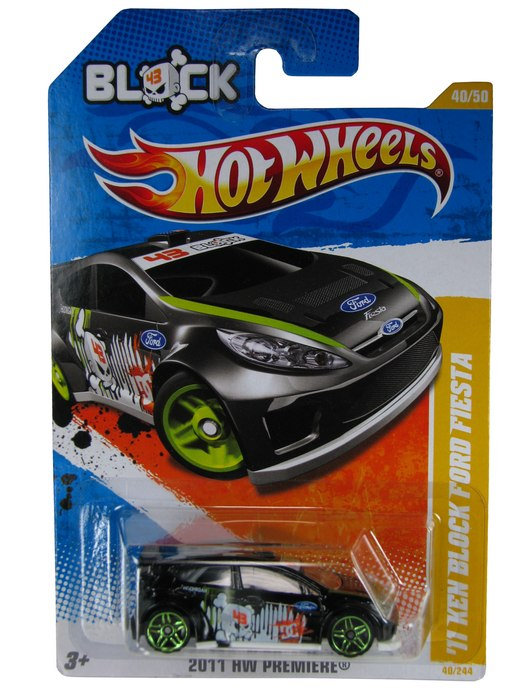 Hot Wheels - Coleção 2011 - ´11 Ken Block Ford Fiesta  - Hobby Lobby CollectorStore