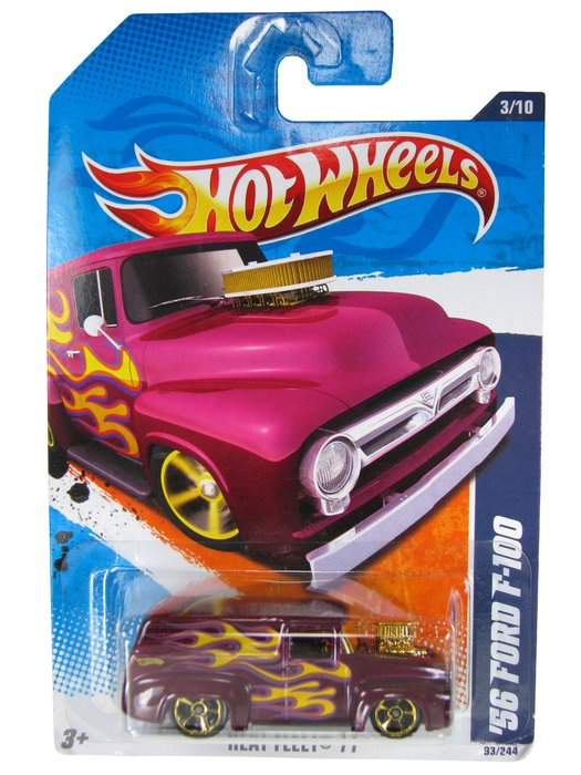 Hot Wheels - Coleção 2011 - ´56 Ford F-100  - Hobby Lobby CollectorStore