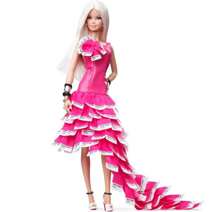 Barbie Collector - Pink in Pantone