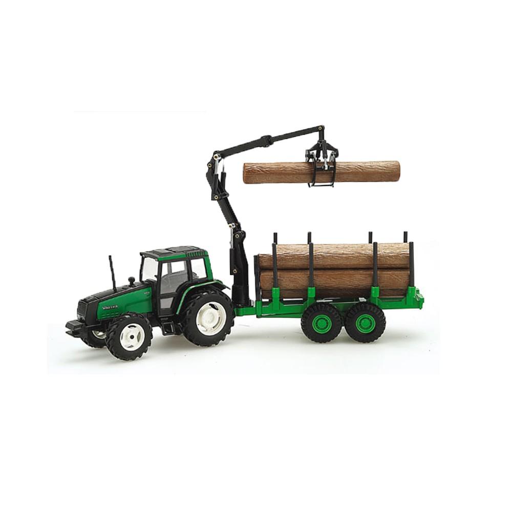 Valtra Trator com Grua Porta-Tronco  - Hobby Lobby CollectorStore