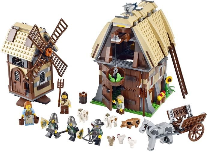 Lego Castle - O Assalto à Aldeia do Moinho - Ref.:7189  - Hobby Lobby CollectorStore