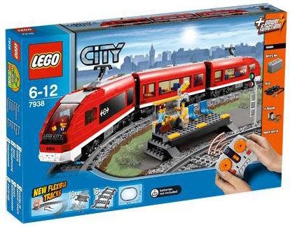 Lego City - Trem de Passageiros - Ref.:7938