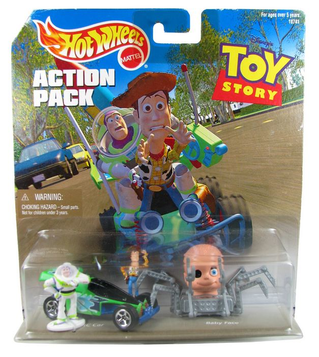 Hot Wheels - Action Pack - Toy Story