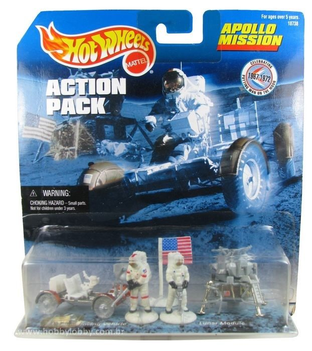 Hot Wheels - Action Pack - Apollo Mission  - Hobby Lobby CollectorStore