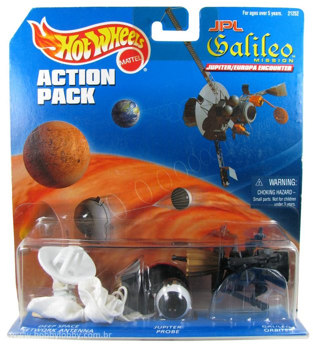 Hot Wheels - Action Pack - Galileo Mission  - Hobby Lobby CollectorStore