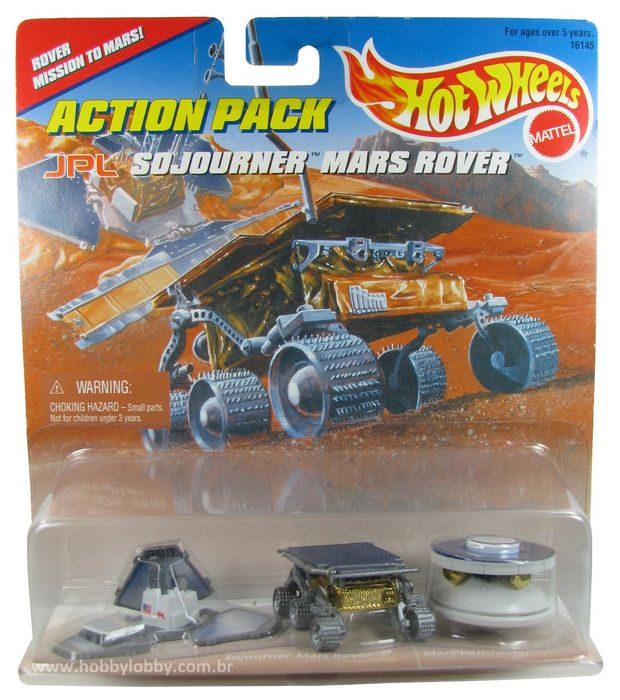 Hot Wheels - Action Pack - Sojourner Mars Rover