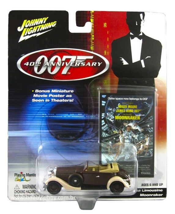 Johnny Lightning - 007 MOONRAKER - Hispano-Suiza Limousine  - Hobby Lobby CollectorStore