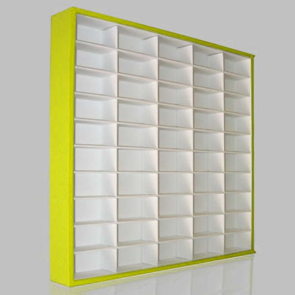 #50 DIECAST DISPLAY CASE - 1:64 [CORES]  - Hobby Lobby CollectorStore