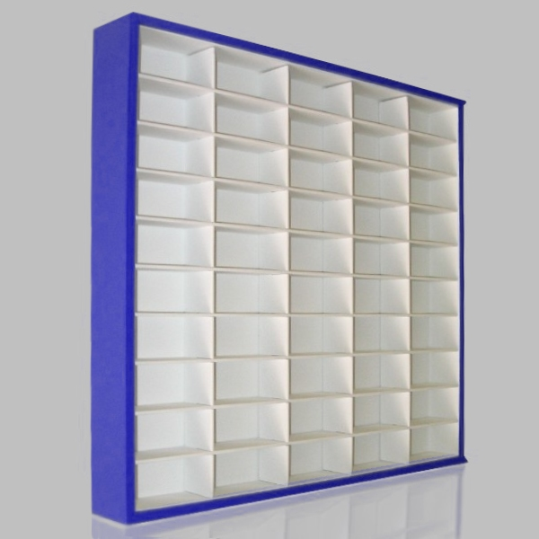 #50 DIECAST DISPLAY CASE - 1:64 [CORES]