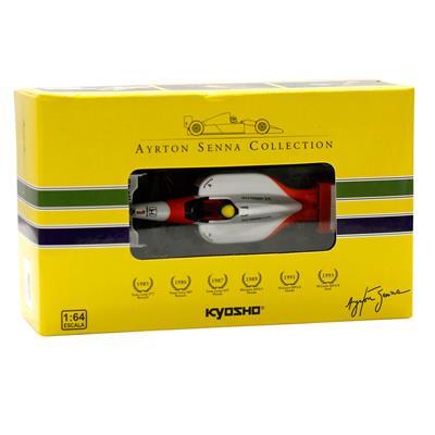 Kyosho - Coleção Ayrton Senna - 1991 - McLaren MP46 Honda  - Hobby Lobby CollectorStore