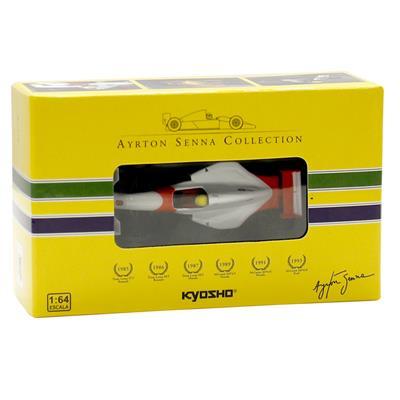 Kyosho - Coleção Ayrton Senna - 1993 - McLaren MP48 Ford  - Hobby Lobby CollectorStore