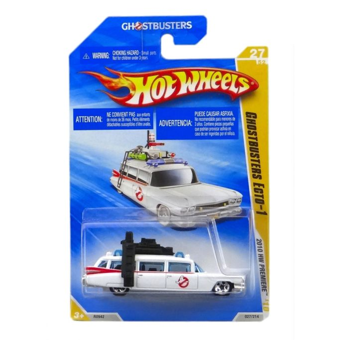 Hot Wheels - Coleção 2010 - Ghostbusters Ecto-1  - Hobby Lobby CollectorStore