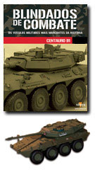 """Altaya - Blindados de Combate - B1 Centauro Reggimento 3ª""""Savoia Cavalleria""""   - Hobby Lobby CollectorStore"""