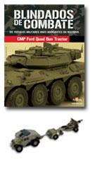 Altaya - Blindados de Combate - British 25 PDR. Field Gun + Quad Gun Tractor   - Hobby Lobby CollectorStore