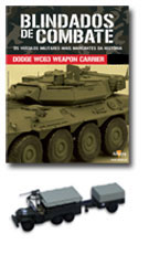 Altaya - Blindados de Combate - Dodge WC 63 Weapon Carrier & Trailer  - Hobby Lobby CollectorStore
