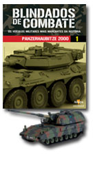 Altaya - Blindados de Combate - Panzerhaubitze 2000   - Hobby Lobby CollectorStore