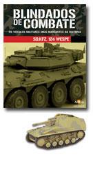 Altaya - Blindados de Combate - Sd.Kfz. 124 Wespe  - Hobby Lobby CollectorStore