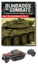 Altaya - Blindados de Combate -  Sd.Kfz. 252 com Sd Ah 31/1   - Hobby Lobby CollectorStore