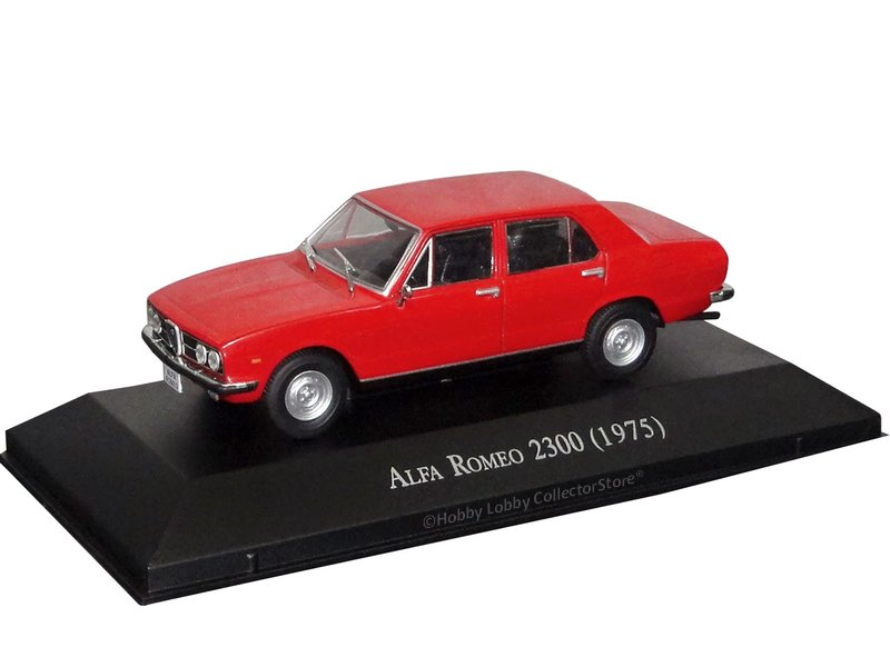 Altaya - Carros Inesquecíveis do Brasil - Alfa Romeo FNM 2300 (1975)