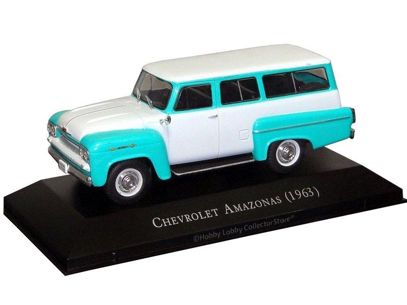 Altaya - Carros Inesquecíveis do Brasil -  Chevrolet Amazonas (1963)