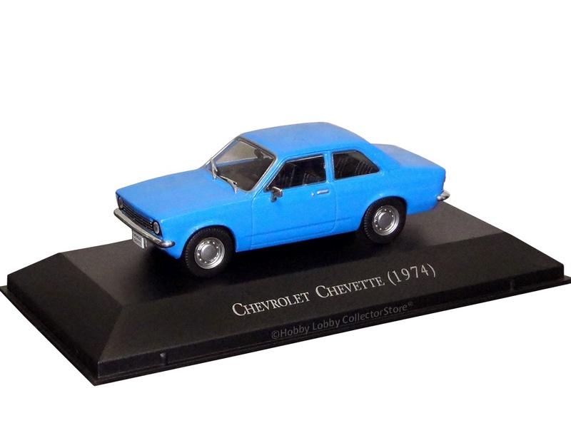 Altaya - Carros Inesquecíveis do Brasil - Chevrolet Chevette (1974)