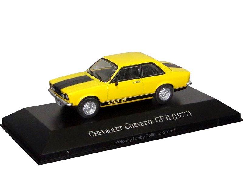 Altaya - Carros Inesquecíveis do Brasil - Chevrolet Chevette GP II (1977)