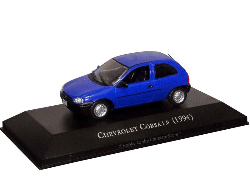 Altaya - Carros Inesquecíveis do Brasil - Chevrolet Corsa 1.0 (1994)