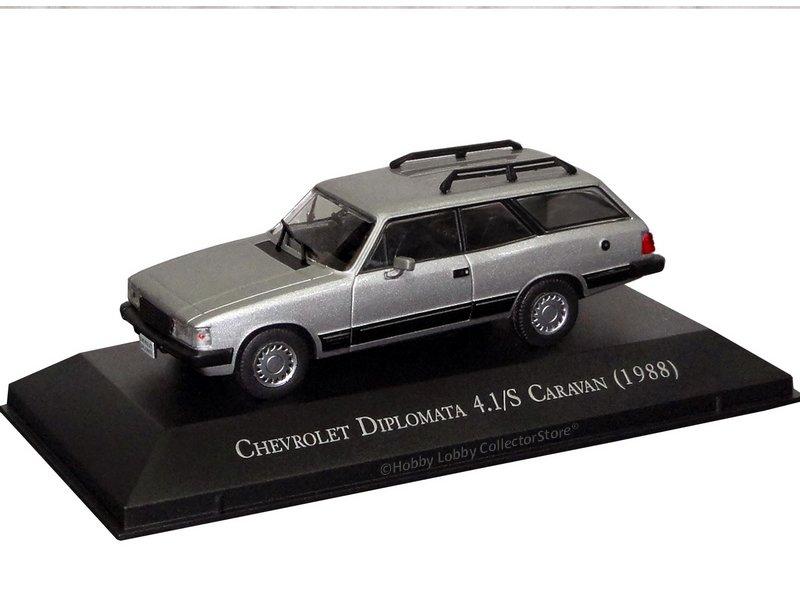 Altaya - Carros Inesquecíveis do Brasil - Chevrolet Diplomata 4.1-S Caravan (1988)  - Hobby Lobby CollectorStore