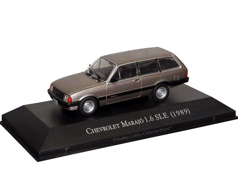 Altaya - Carros Inesquecíveis do Brasil -  Chevrolet Marajó (1989)