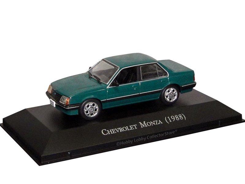 Altaya - Carros Inesquecíveis do Brasil - Chevrolet Monza (1988)