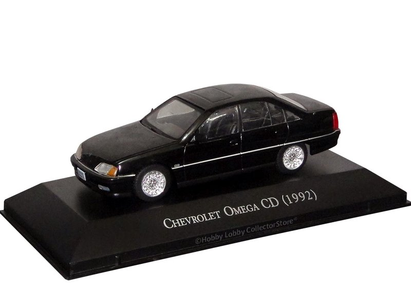 Altaya - Carros Inesquecíveis do Brasil - Chevrolet Omega CD (1992)