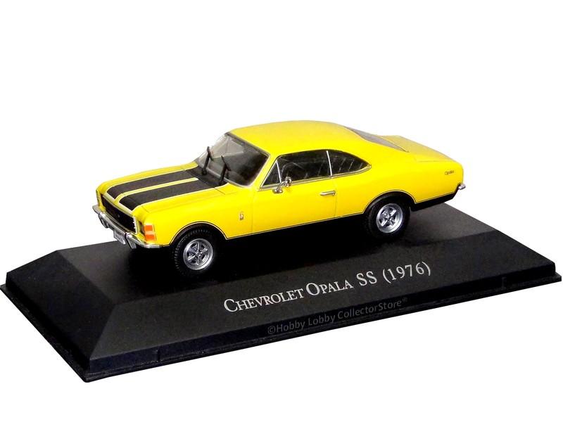 Altaya - Carros Inesquecíveis do Brasil - Chevrolet Opala SS (1976)