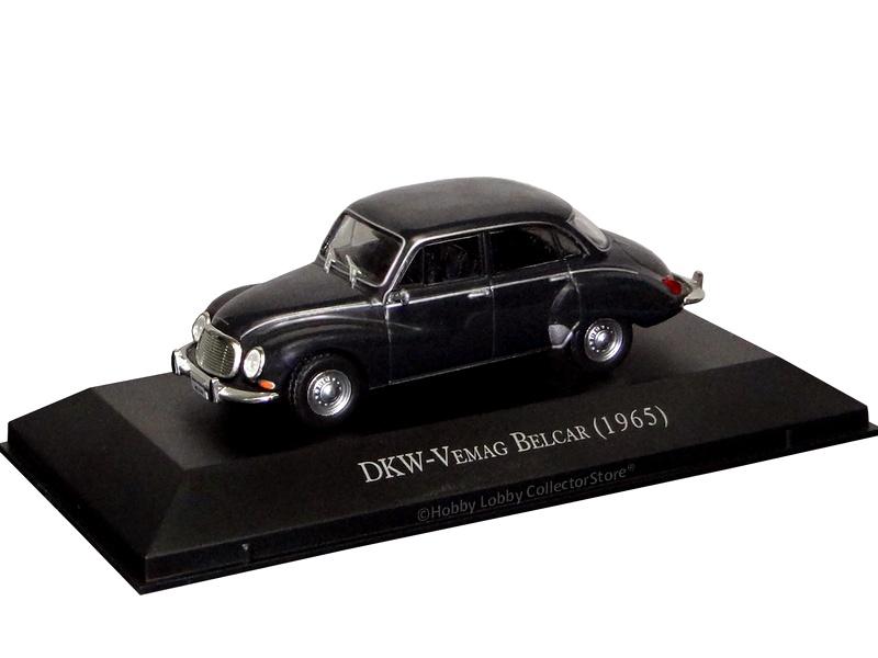 Altaya - Carros Inesquecíveis do Brasil - DKW-Vemag Belcar (1965)
