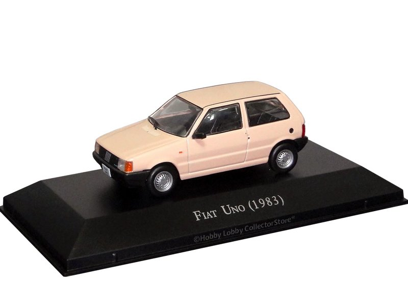Altaya - Carros Inesquecíveis do Brasil - Fiat Uno (1983)