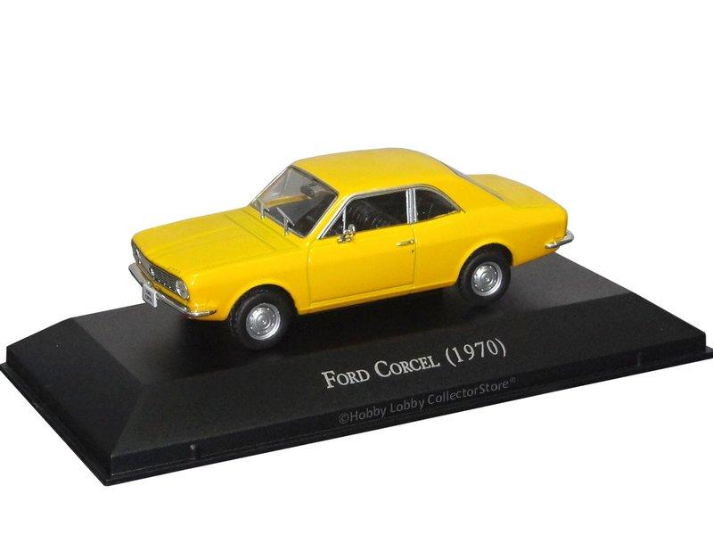 Altaya - Carros Inesquecíveis do Brasil - Ford Corcel (1970)  - Hobby Lobby CollectorStore