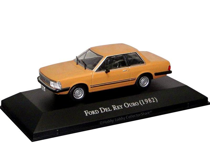 Altaya - Carros Inesquecíveis do Brasil  - Ford Del Rey Ouro (1982)