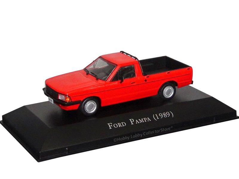 Altaya - Carros Inesquecíveis do Brasil - Ford Pampa (1989)