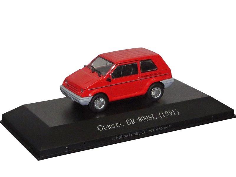 Altaya - Carros Inesquecíveis do Brasil - Gurgel BR-800 (1989)