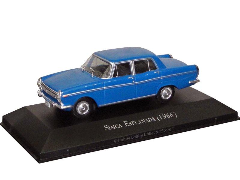 Altaya - Carros Inesquecíveis do Brasil - Simca Esplanada (1966)  - Hobby Lobby CollectorStore