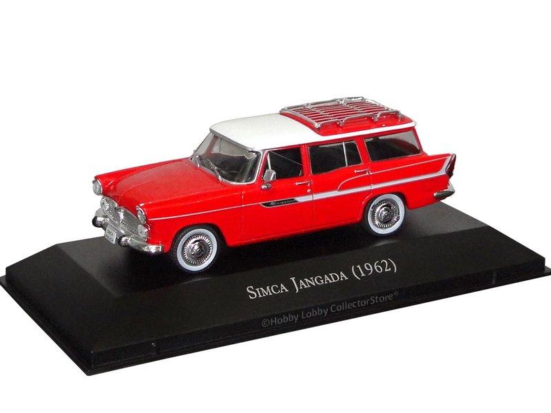 Altaya - Carros Inesquecíveis do Brasil - Simca Jangada (1962)  - Hobby Lobby CollectorStore