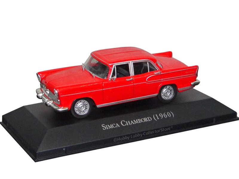 Altaya - Carros Inesquecíveis do Brasil - Simca Vedette Chambord (1960)  - Hobby Lobby CollectorStore