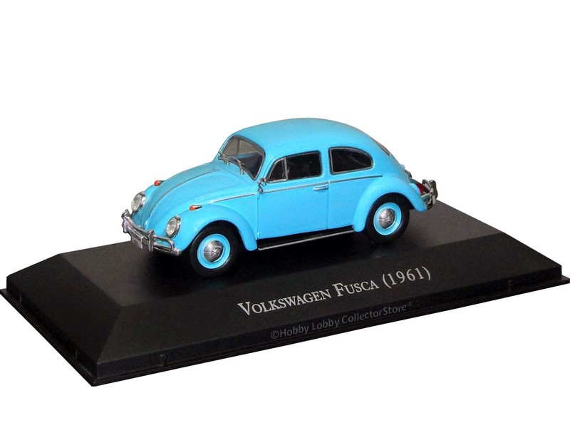 Altaya - Carros Inesquecíveis do Brasil - Volkswagen Fusca (1961)