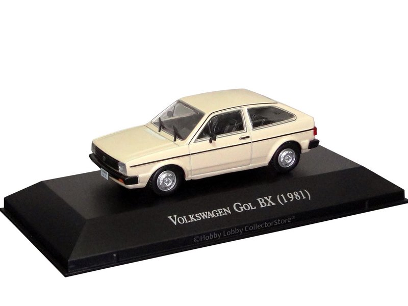 Altaya - Carros Inesquecíveis do Brasil - Volkswagen Gol BX (1984)