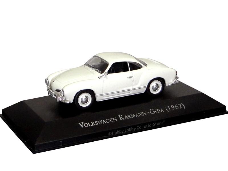 Altaya - Carros Inesquecíveis do Brasil - Volkswagen Karmann-Ghia (1961)