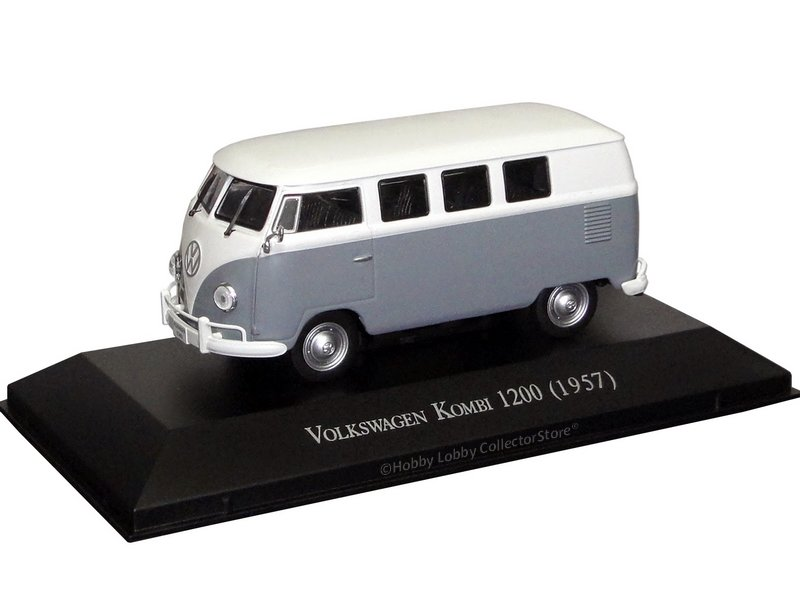 Altaya - Carros Inesquecíveis do Brasil - Volkswagen Kombi 1200 (1957)  - Hobby Lobby CollectorStore