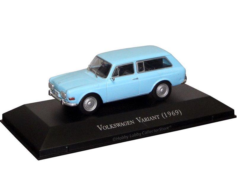Altaya - Carros Inesquecíveis do Brasil - Volkswagen Variant (1969)