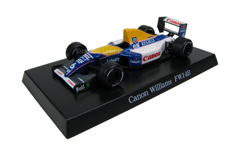 Aoshima - Canon Williams FW14B  - Hobby Lobby CollectorStore