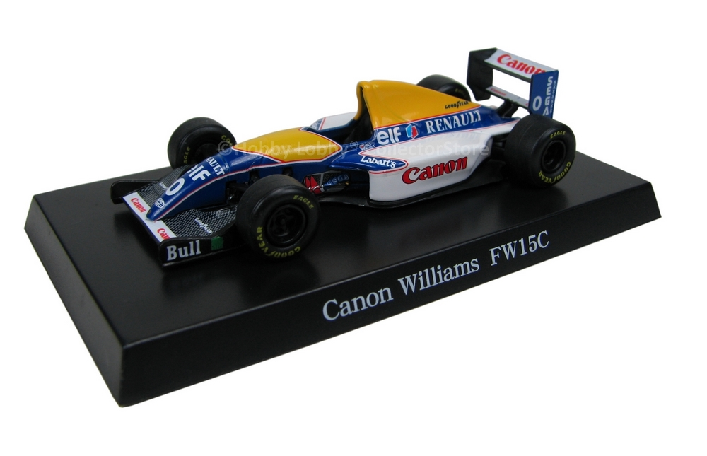 Aoshima - Canon Williams FW15C  - Hobby Lobby CollectorStore