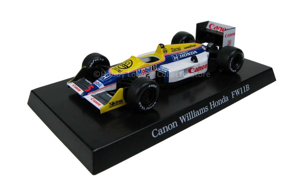 Aoshima - Canon Williams Honda FW11B  - Hobby Lobby CollectorStore